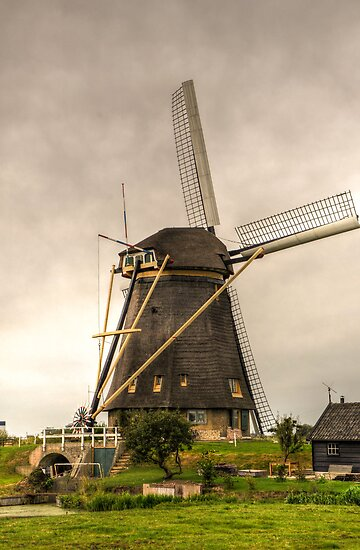 Old Dutch Windmill by Nicole W.