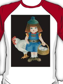 doll and chicken T-Shirt