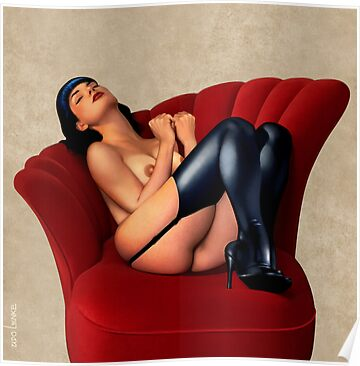 THE SOFA PIN-UP by Udo Linke