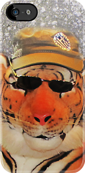 Kool Kat iPhone/iPod case by Carol Bleasdale