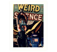 WEIRD SCIENCE Art Print