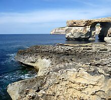 Azure Window - Gozo by Federica Gentile
