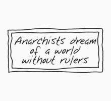 Anarchists and Rulers Kids Clothes