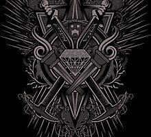 Crest Craft Black by Martin Knight