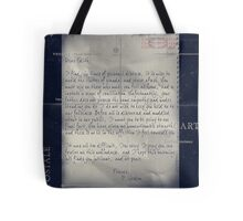 Dear Edith Crawley Tote Bag
