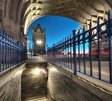 Tower Bridge(mind the gap) by Andrew-Thomas