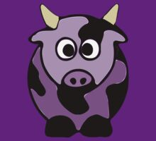 ღ°㋡Cute Lavender Colored Cow Clothing & Stickers㋡ღ° by Fantabulous