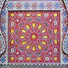 Colorful door by Jeff Knapp