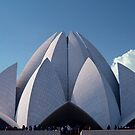 Lotus Temple   by phil decocco