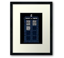 Who's Your Companion Framed Print