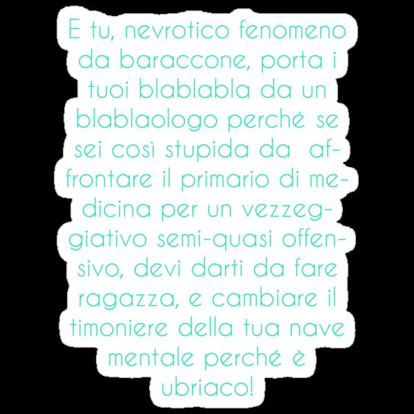BlaBlaBla da un Blablaologo by Bila