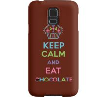 Keep Calm and Eat Chocolate 3G  4G  4s iPhone case  Samsung Galaxy Case/Skin