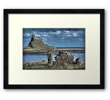 Lindifarne Castle (Holy Island) Framed Print
