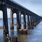 Tay  Rail Bridge , Dundee, Scotland. by Forfarlass