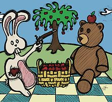 Teddy Bear And Bunny - A Dangerous Game by Brett Gilbert