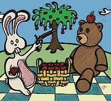 Teddy Bear And Bunny - A Dangerous Game by Brett Gilbert