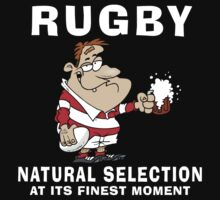 Funny Rugby by SportsT-Shirts