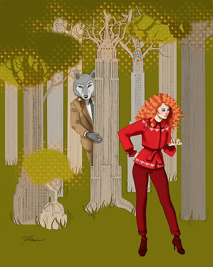 Red Riding Hood by nouvellegamine