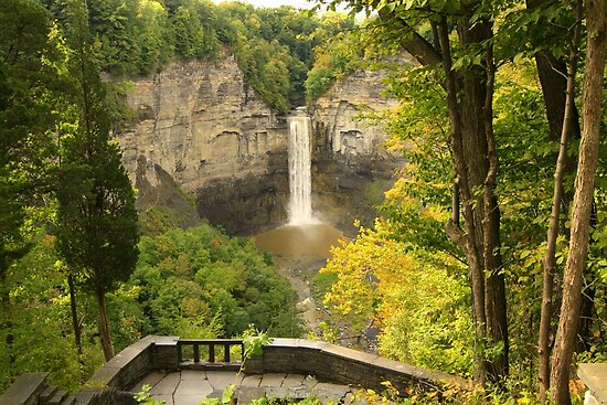 Finger Lakes Falls by reindeer