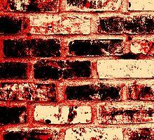 Fire brick wall  by Nhan Ngo
