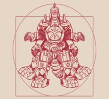 Vitruvian Dragon Zord by rabzila