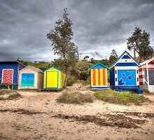 Bathing Boxes by Shari Mattox