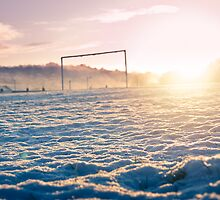 Frozen Football Pitch by Paul-M-W