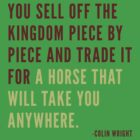 Selling the Horse by Colin Wright