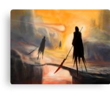 Lava Wraiths Canvas Print