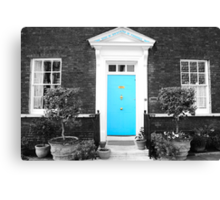 Blue Door, Tower of London Canvas Print