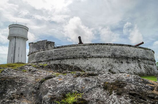 Historical Places of Nassau, The Bahamas: Fort Fincastle & The Water Tower by 242Digital
