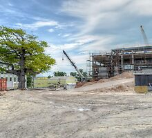 Construction of the new building at The Princess Margaret Hospital (PMH) in Nassau, The Bahamas by 242Digital