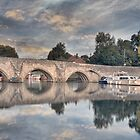 A BRIDGE OVER THE RIVER MEDWAY by Rob  Toombs