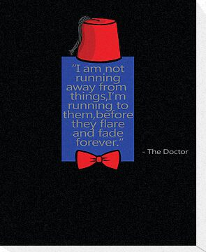 """To Quote The Doctor"" by Ameda Nowlin"
