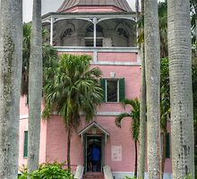 The Public Library in Downtown Nassau, The Bahamas by 242Digital