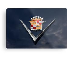 Cadillac Crest Metal Print