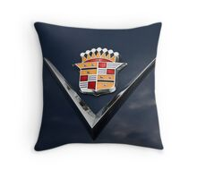 Cadillac Crest Throw Pillow