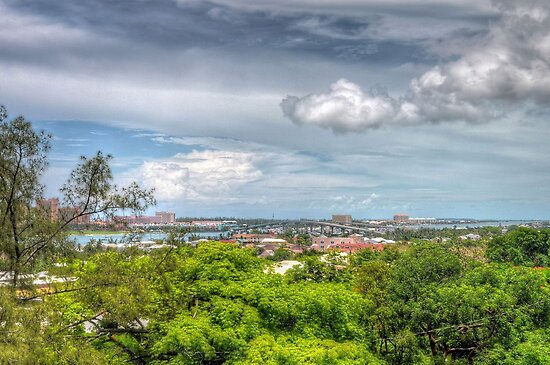 View of Nassau, The Bahamas from Fort Fincastle by 242Digital