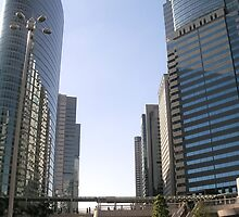Tall buildings and Square by MOFS