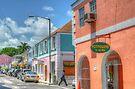 Market Street in Downtown Nassau, The Bahamas by 242Digital