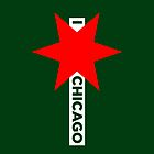 I ✶ Chicago iPhone Case (Green) by Chicago Tee