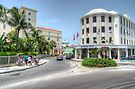 Entering Downtown Nassau from the West in The Bahamas by 242Digital