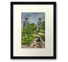The water park at Atlantis in Paradise Island, The Bahamas Framed Print