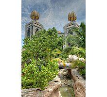 The water park at Atlantis in Paradise Island, The Bahamas Photographic Print