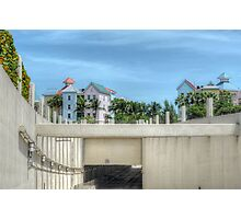 The Tunnel & Harbour Village at Paradise Island in The Bahamas Photographic Print