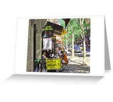 Greenwich Village  Greeting Card