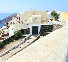 Oia Village, Santorini by Carole-Anne