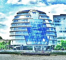 London's City Hall by PictureNZ