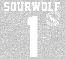 "Teen Wolf ""SOURWOLF 1"" Lacrosse Kids Clothes"
