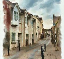 Abbey Lane - watercolour by PhotosByHealy